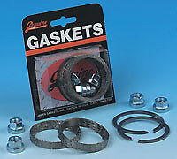 James Gasket Kit; Exh BT'84up Tapered Type w/Flange Nuts (Kit) to suit Harley