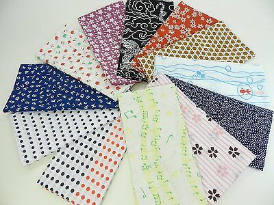 Japanese traditional towel TENUGUI COTTON NEW 12SET(2) MADE IN JAPAN