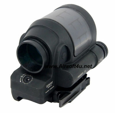 Airsoft 1X38 SRS Style Solid Adjustable Brightness Red Dot Sight Scope 20mm Rail