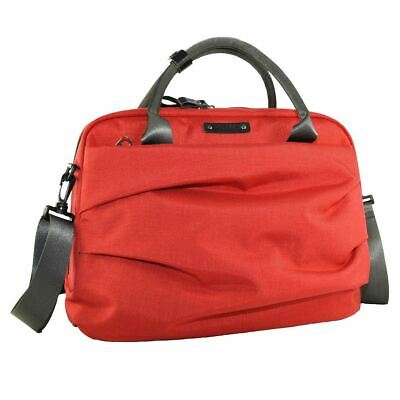 Y.U.M.C Nylon Padded Messenger Satchel Organiser Bag for 13.3 inch Laptops Red