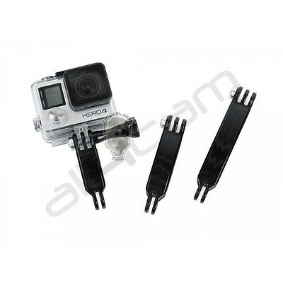 TMC Extension Arm Set 68mm 88mm 108mm (black) for GoPro Hero 2 3 3+ 4 5 6