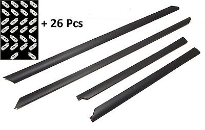 AUDI A4 8D D5 95-01 LOWER BOTTOM MOULDING DOOR  protective rubber set 4 pieces