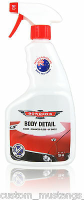Bowden's Own Auto Body Detail Spray Mothers Meguiars Turtle Wax FPV HSV BMW .75l