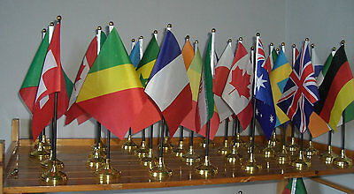 World Flag Table Flags - Large Great Quality Country National International