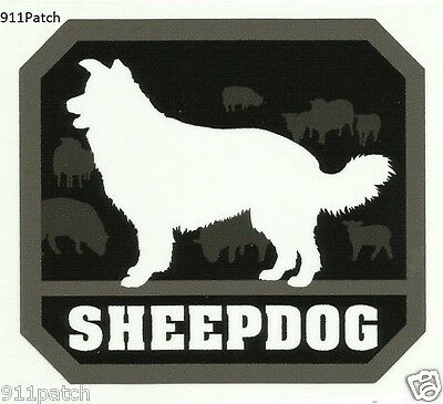 Sheepdog Protector Police Military Fire Rescue 1st Responder Decal Sticker
