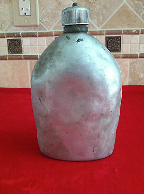 WW1 Pre-1918 US Aluminum Metal Military Canteen Army 1914 / 1915