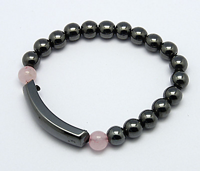 Premium Magnetic Hematite Bracelet for Arthritic Pain & Blood Pressure(Q026-2)