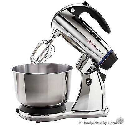 Stand Mixer Stainless Steel Blender Kitchen Appliance Bowls Bakery Cakes Cookies