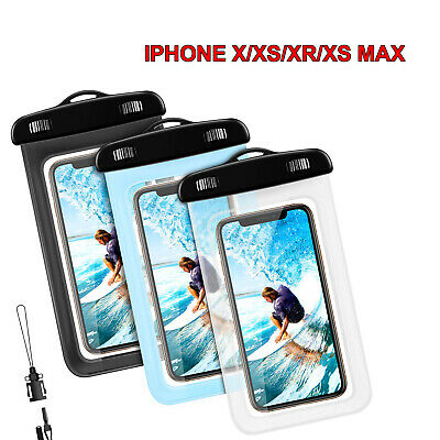 Custodia Cover Sacchetto waterproof impermeabile sabbia acqua PER SMARTPH Iphone