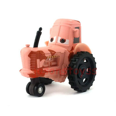 Mattel Disney Pixar Cars Tractor Metal Toy Car 1:55 Loose New In Stock