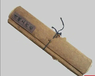 Old Chinese Long Scroll describe Paintings Qing Ming On The River Map ( 100 inch