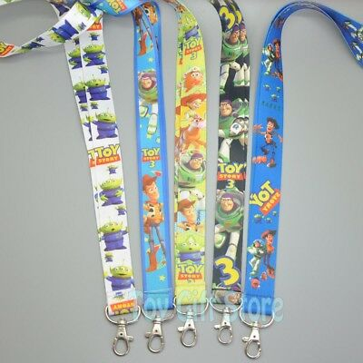 New 1 Pcs Toy Story 3 Lanyard Keys ID Neck Strap