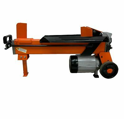 Electric Log Splitter Wood Axe Hydraulic Cutter With Stand Blade & Ram Stop