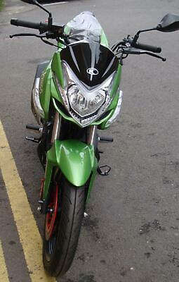 Brand new Kymco CK1 125cc motorcycle in striking green
