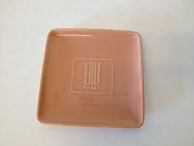 Vtg Mid Cent. Gladding McBean Franciscan California Pottery Square Plate / Tray