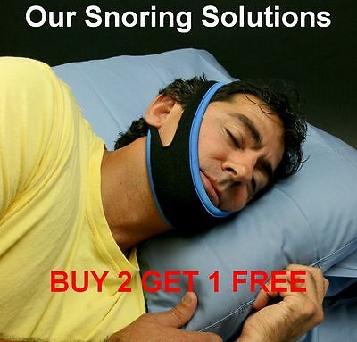 Best Snoring Solution - Stop Snoring Jaw Strap - Anti Snore & Apnea CHIN BELT