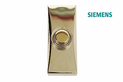 Siemens Wired Brass Effect Bell Push For Wired Chimes DCW15 RRP: £9.98
