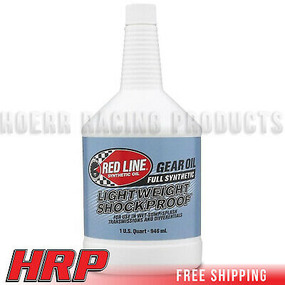 Red Line Lightweight Shock Proof Gear Oil (1 Quart) RED-58404