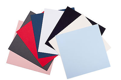 Packs of 10* Black White Ivory Grey Blue Pink Red 1120x815mm Mount Board Sheets
