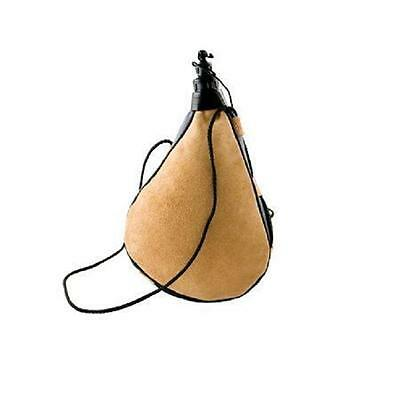 Leather Bota Bag Water Wine Skins Camping Hiking Canteen Drinking Gift 1L Spain
