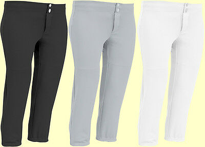Champro Womens Female Pull-Up Fastpitch Softball Pants Size S-XXL BP8 3 Colors