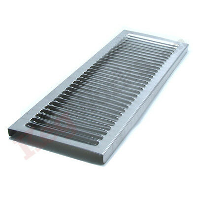 """35 7/8"""" Replacement Splash Grid - Stainless Steel - Draft Beer Spill Tray Parts"""