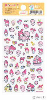 "Sanrio My Melody ""Summer"" Holographic Stickers (2012)"