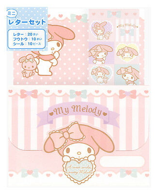 Sanrio My Melody Mini Letter Set