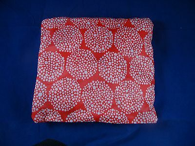 IKEA Foldable Duffel Bag with Carrying Pouch Red   White NEW Great Gift 11d230f246f25