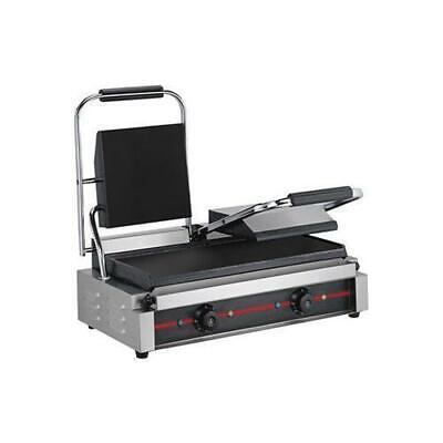 ElectMax Contact Grill, Double, Commercial Cooking Equipment, Griddle