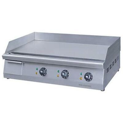 Electric Griddle / Hotplate w/ Triple Control, 760mm Wide, ElectMax