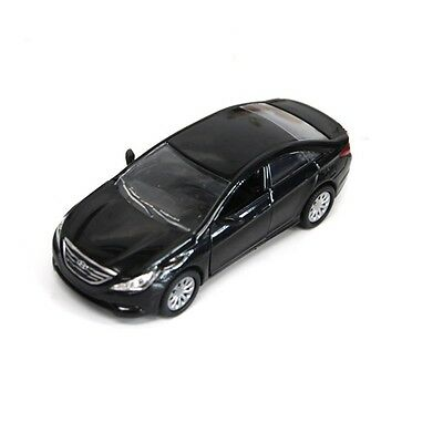 Clovertoys HYUNDAI YF SONATA 1:35 DIECAST METAL Black