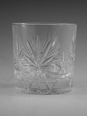 "EDINBURGH Crystal - STAR of EDINBURGH - OF Tumbler Glass / Glasses - 3 1/4"" 2nd"