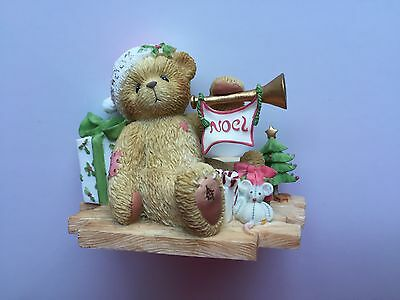 "Cherished Teddies Gerard ""Welcome All The Sounds of the Season"" 112391"