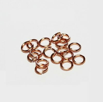20 GA BRONZE Jump Ring  6 MM O//D Pkg Of 200 //Made in USA #BJR20-6M 1//2Z
