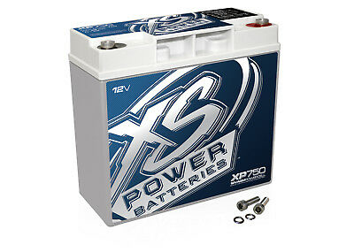 New XS Power XP750 12 Volt 750 Amp Deep Cycle AGM Car Audio Battery/Power Cell
