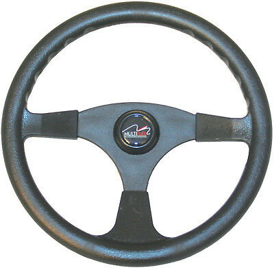 Boat Steering Wheel 3 Spoke ALpha 340mm Sports Wheel Marine Multiflex