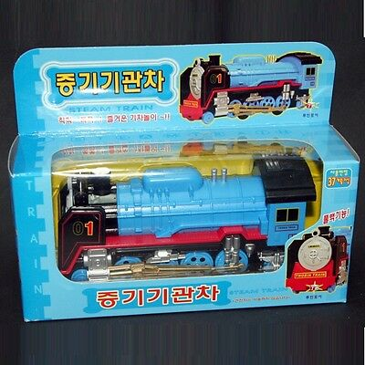 TOY Learders Steam Train pull back & go action DIECAST METAL 37m+