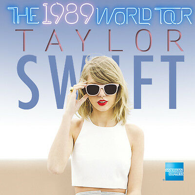 TAYLOR SWIFT: The 1989 World Tour 2015 Tickets (2)