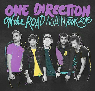 ONE DIRECTION: On the Road Again Tour 2015 Tickets (2)
