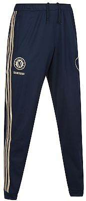 New MENS adidas Chelsea Tracksuit Bottoms W37975 Football/Soccer Performance