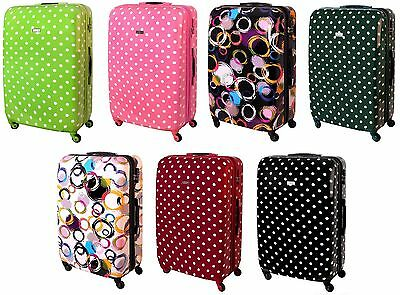 Hard Shell 4 Wheel Spinner Suitcase ABS Luggage Trolley Cabin Case Carry Large