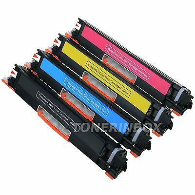 4 Color Toner Set CE310A CE311A CE312A CE313A 126A For LaserJet M175 CP1025NW