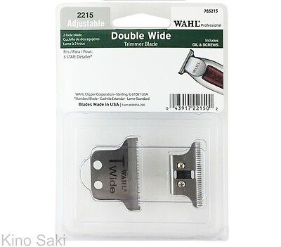 WAHL Professional 5-Star Detailer #2215 Replacement Double Wide T-Blade Kit