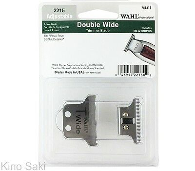 WAHL Professional 5-Star Detailer # 8081 Replacement Double Wide T-Blade Kit
