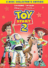 Toy Story 2 - 2-Disc Collector's Edition 1999 John Lasseter New UK Region 2 DVD