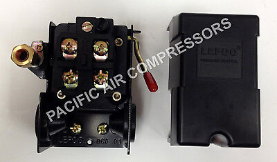 Pressure Switch Unloader & On/off 69Mb7Ly 95-125 Psi Furnas Hubbell Replacement
