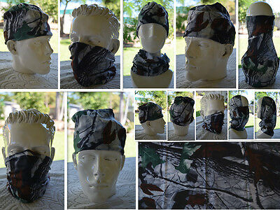 Head/Face/Mask/Neck Multi-wear tube Bandana/Durag.SPF5,Scarf/Wrap. 020