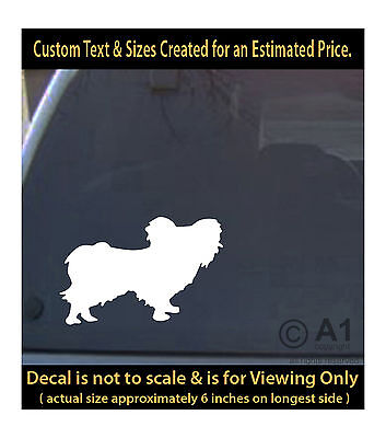 Chinese Crested dog 6 inch decal pet love man best friend car laptop mor swp1_3b