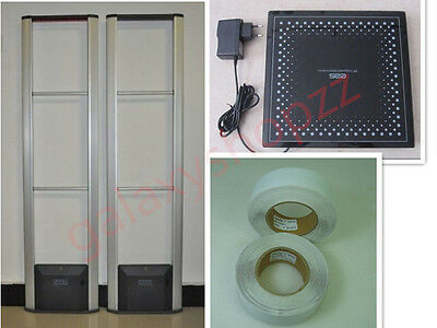 RF Detector Store Security System Checkpoint with labels and tool